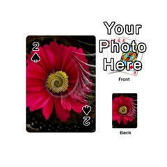 Fantasy Flower Fractal Blossom Playing Cards 54 (mini)