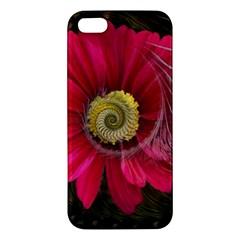 Fantasy Flower Fractal Blossom Apple Iphone 5 Premium Hardshell Case