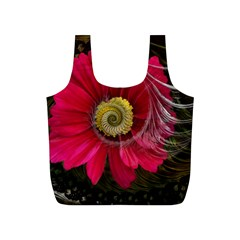 Fantasy Flower Fractal Blossom Full Print Recycle Bags (s)