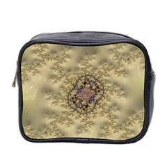 Fractal Art Colorful Pattern Mini Toiletries Bag 2 Side