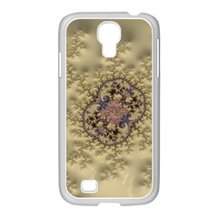 Fractal Art Colorful Pattern Samsung Galaxy S4 I9500/ I9505 Case (white)