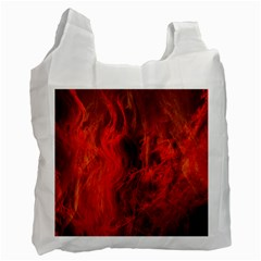 Fractal Abstract Background Physics Recycle Bag (one Side)