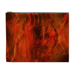 Fractal Abstract Background Physics Cosmetic Bag (xl)