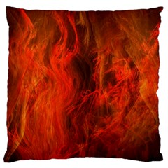 Fractal Abstract Background Physics Large Cushion Case (one Side)