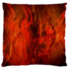 Fractal Abstract Background Physics Large Flano Cushion Case (one Side)