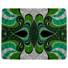 Fractal Art Green Pattern Design Jigsaw Puzzle Photo Stand (rectangular)