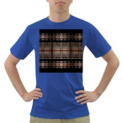 Fractal Art Design Geometry Dark T Shirt