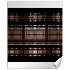 Fractal Art Design Geometry Canvas 16  X 20