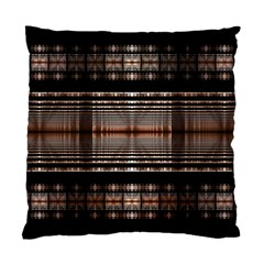 Fractal Art Design Geometry Standard Cushion Case (two Sides)