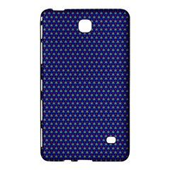 Blue Fractal Art Honeycomb Mathematics Samsung Galaxy Tab 4 (8 ) Hardshell Case
