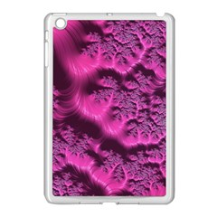 Fractal Artwork Pink Purple Elegant Apple Ipad Mini Case (white)