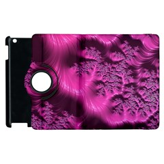 Fractal Artwork Pink Purple Elegant Apple Ipad 3/4 Flip 360 Case