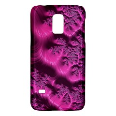 Fractal Artwork Pink Purple Elegant Galaxy S5 Mini by Sapixe