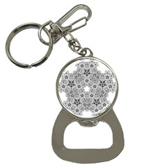 Fractal Background Foreground Bottle Opener Key Chains