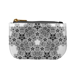 Fractal Background Foreground Mini Coin Purses