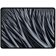 Fractal Mathematics Abstract Double Sided Fleece Blanket (large)