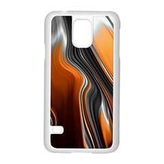 Fractal Structure Mathematics Samsung Galaxy S5 Case (white)