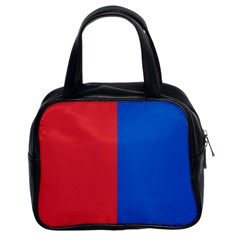 Red And Blue Classic Handbags (2 Sides) by jumpercat