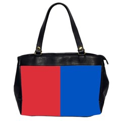 Red And Blue Office Handbags (2 Sides)