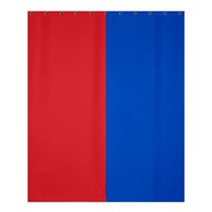 Red And Blue Shower Curtain 60  X 72  (medium)  by jumpercat