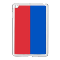 Red And Blue Apple Ipad Mini Case (white)