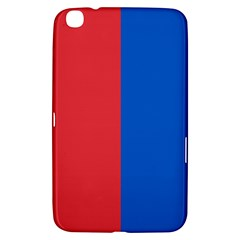 Red And Blue Samsung Galaxy Tab 3 (8 ) T3100 Hardshell Case