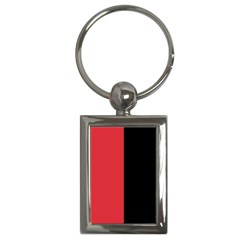 Red And Black Key Chains (rectangle)