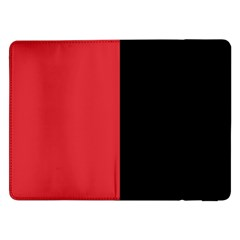 Red And Black Samsung Galaxy Tab Pro 12 2  Flip Case by jumpercat