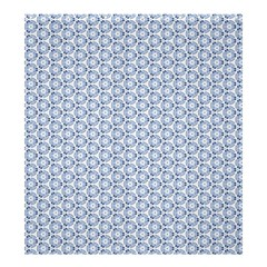 Abstract Ornament Tiles Shower Curtain 66  X 72  (large)
