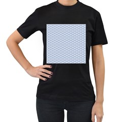 Abstract Ornament Tiles Women s T Shirt (black)