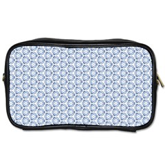 Abstract Ornament Tiles Toiletries Bags 2 Side