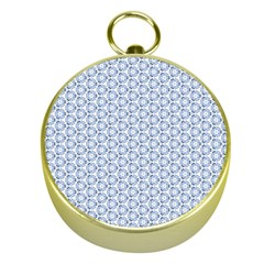 Abstract Ornament Tiles Gold Compasses