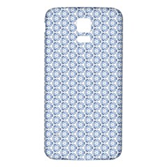 Abstract Ornament Tiles Samsung Galaxy S5 Back Case (white)
