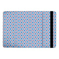 Vibrant Red And Blue Triangle Grid Samsung Galaxy Tab Pro 10 1  Flip Case by jumpercat