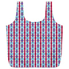 Arabic Ornament Stripes Full Print Recycle Bags (l)