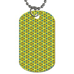 Mechanical Pattern Dog Tag (one Side)