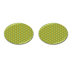 Mechanical Pattern Cufflinks (oval)