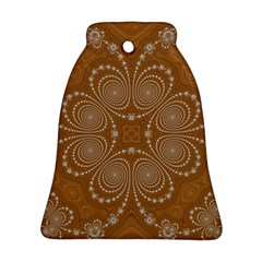Fractal Pattern Decoration Abstract Bell Ornament (two Sides)