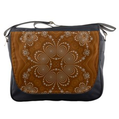 Fractal Pattern Decoration Abstract Messenger Bags