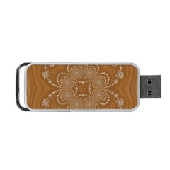 Fractal Pattern Decoration Abstract Portable Usb Flash (two Sides)