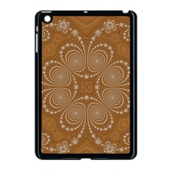 Fractal Pattern Decoration Abstract Apple Ipad Mini Case (black)