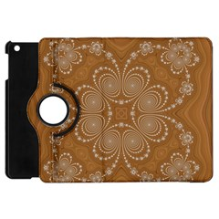 Fractal Pattern Decoration Abstract Apple Ipad Mini Flip 360 Case