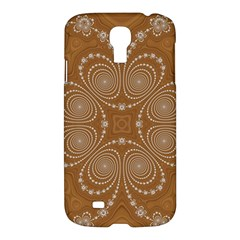 Fractal Pattern Decoration Abstract Samsung Galaxy S4 I9500/i9505 Hardshell Case