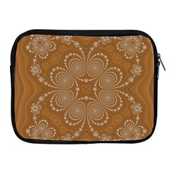 Fractal Pattern Decoration Abstract Apple Ipad 2/3/4 Zipper Cases by Sapixe