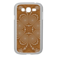 Fractal Pattern Decoration Abstract Samsung Galaxy Grand Duos I9082 Case (white)
