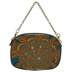 Fractal Abstract Pattern Chain Purses (one Side)