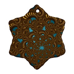 Fractal Abstract Pattern Ornament (snowflake)