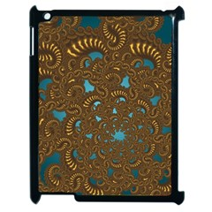 Fractal Abstract Pattern Apple Ipad 2 Case (black)