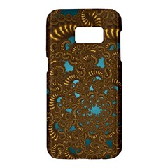 Fractal Abstract Pattern Samsung Galaxy S7 Hardshell Case