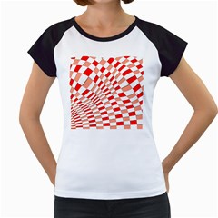Graphics Pattern Design Abstract Women s Cap Sleeve T
